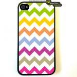 Iphone 4 Case Multi Chevro..