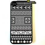 Iphone 4 Case, Black Triba..