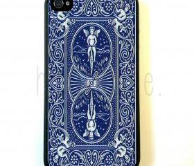 Bicycle Playing Card Back iPhone 5 Case - For iPhone 5/5G - Designer TPU Case Verizon AT&T Sprint