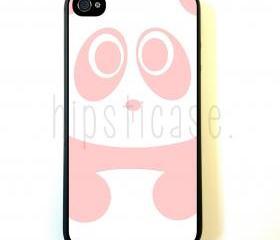 Baby Panda Bear Pink iPhone 5 Case - For iPhone 5/5G - Designer TPU Case Verizon AT&T Sprint