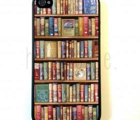 Hobbies Bookshelf iPhone 5 Case - For iPhone 5/5G - Designer TPU Case Verizon AT&T Sprint