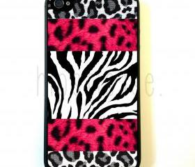 Jungle Prints iPhone 5 Case - For iPhone 5/5G - Designer TPU Case Verizon AT&T Sprint
