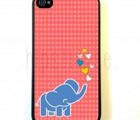 Kawaii Elephant iPhone 5 Case - For iPhone 5/5G - Designer TPU Case Verizon AT&T Sprint